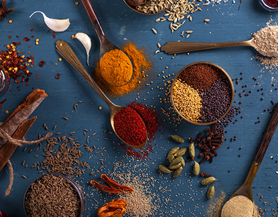 Indi Spices - Product Photography