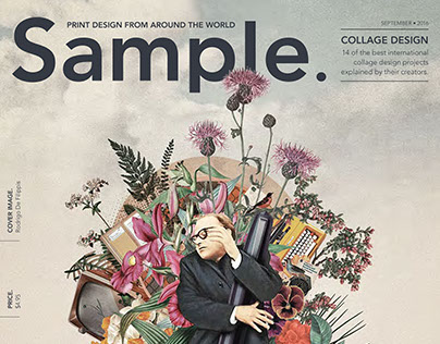 Collage, Sample Magazine