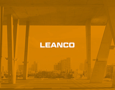 LEANCO // logotype for construction services company