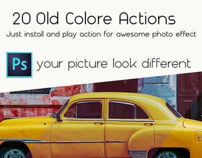 20 Old Color Actions