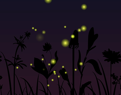 Fireflies animation