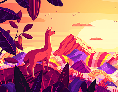 SUNSET: Illustration