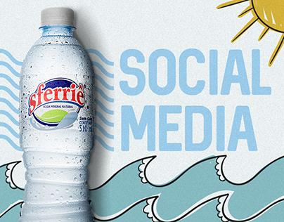 SOCIAL MEDIA - Água Mineral Sferriê