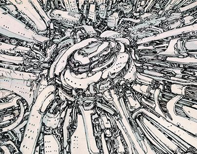 Ink Worlds, Digital Scapes