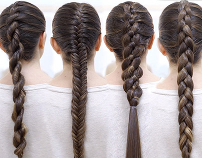 5 types of braids to make yourself