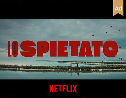 Lo Spietato - Netflix Official KeyArt & Campaign