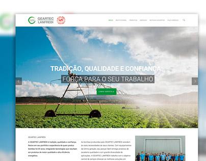 Website - Bombas GeartecLanfredi