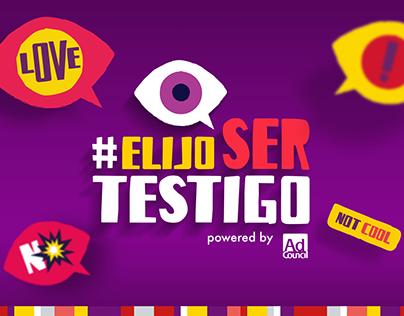 Ripley - Campaña Escolares #ElijoSerTestigo