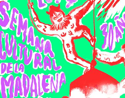 Poster Semana cultural de la Magdalena