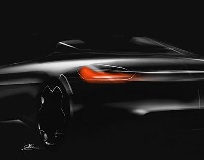 BMW 4 Speedster and Peugeot