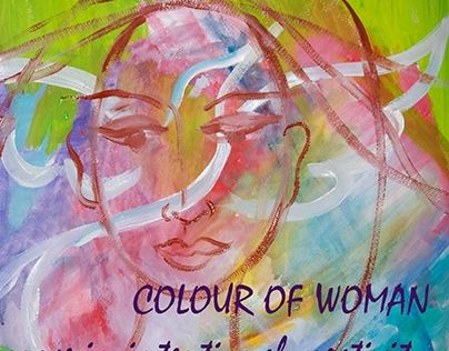 Colour of woman