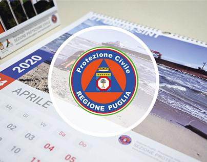 Calendario 2020 Protezione Civile Regione Puglia