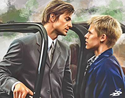 Brian and Justin. Queer as Folk.