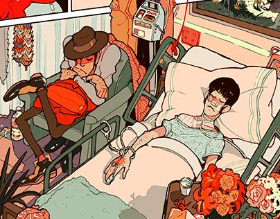 Hospital (single comic page)