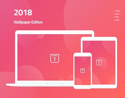 2018 Wallpaper Calendar - Free Downloads