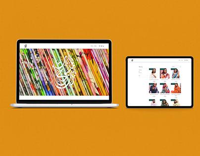 Zain Textiles - web design