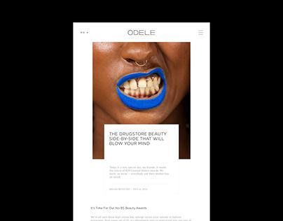 Odele website