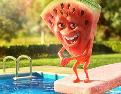 Trident - Watermelon