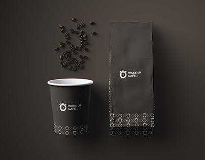 Wake Up Cafe Branding