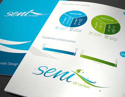 Seni UK Ltd. – corporate identity