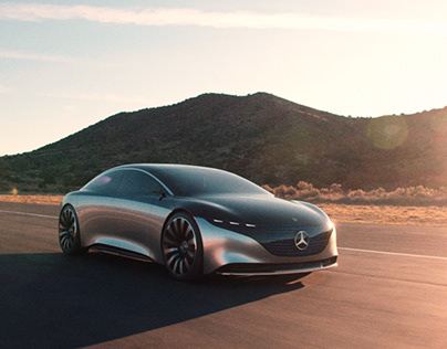Mercedes-Benz Vision EQS – LA