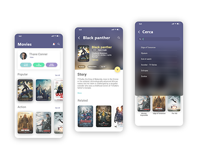 Movies Library Concept