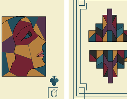 HVA Playing Card Project - Queen of Clubs