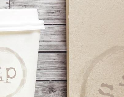 Sip Coffee Shop Branding