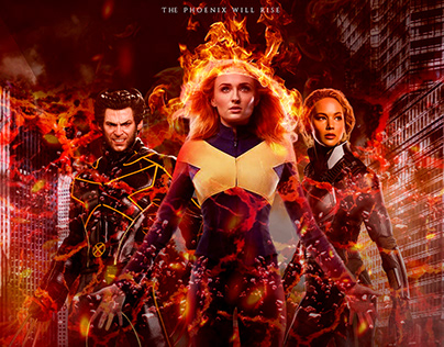 X-MEN - Dark Phoenix Unofficial Poster