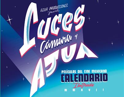 Calendario Ajúa 2017 -  Películas del Cine Mexicano