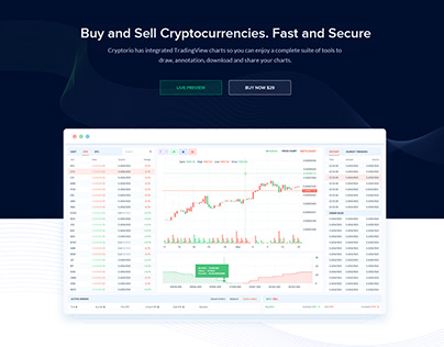 Cryptocurrency Trading Dashboard