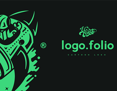 Logofolio - Cartoon Logo