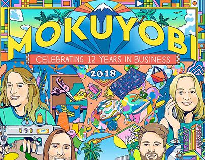 MOKUYOBI 12th Anniversary