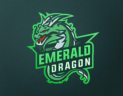 Second Element - Emerald Dragon Mascot