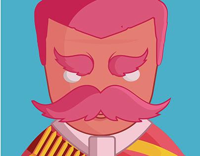 Emiliano Zapata Ilustración