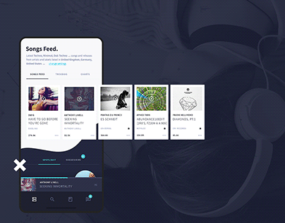 Soundfeed - SaaS Product Design