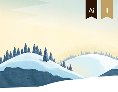 Illustrations for the Russian Mountaineering Federation