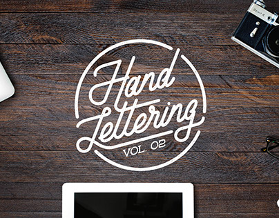 Hand Lettering Vol. 02