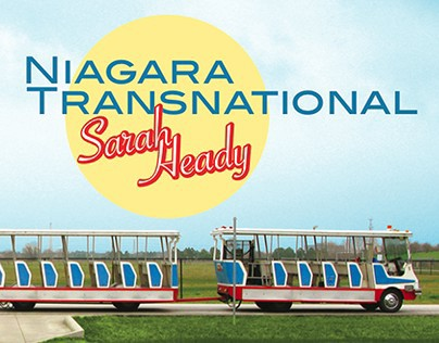 Cover Design, Niagara Transnational by Sarah Heady