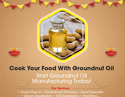 Groundnut Oil Manufacturing Business- IID