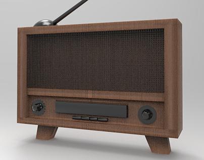 Inktober 4TH - Radio