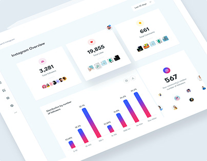 Iconosquare - Colors, Branding, UI and UX