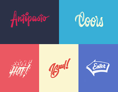 Lettering Sketches huge collection