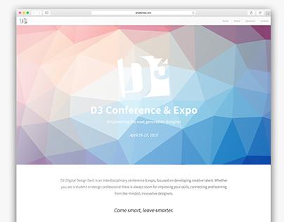 D3 Expo Splash Page