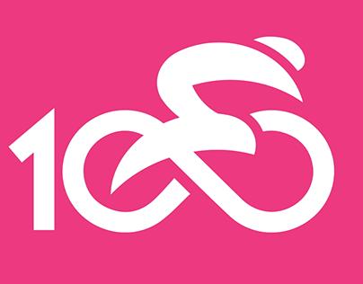Giro d'Italia 100 anni - Opener logo animation - RAI