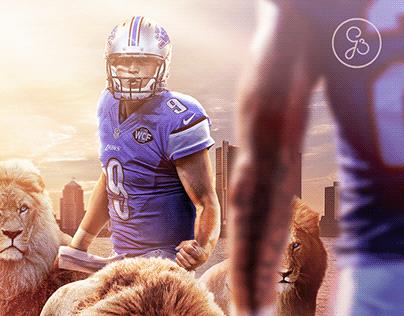 Detroit Lions - NFL Preseason Graphic