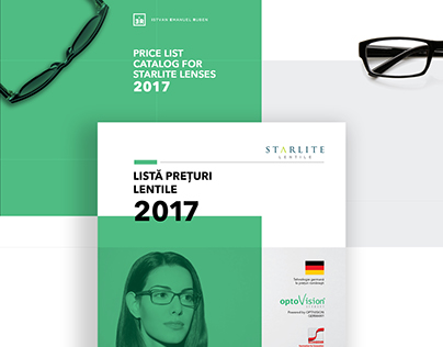 Starlite Lenses Price List Catalog 2017