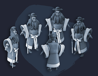 3D Character Concept (01)