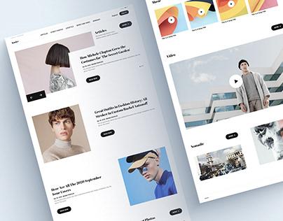 Koolye - Fashion Website Design