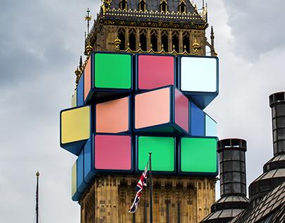 Rubik's Cube - Big Ben